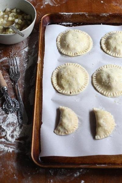 Recipes - hand pies, sweet empanadas, dessert turnovers from FoodieCrush
