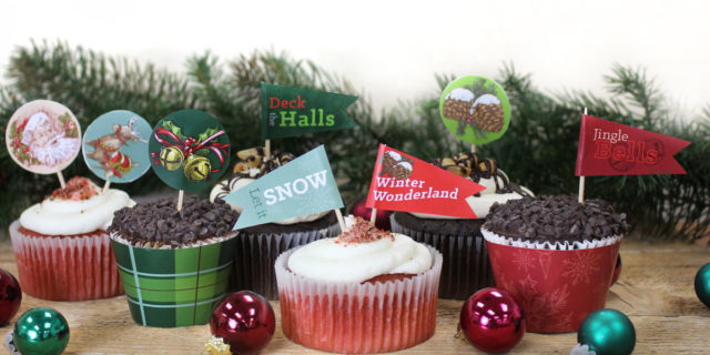 Easy Printable Cupcake Decorating Ideas