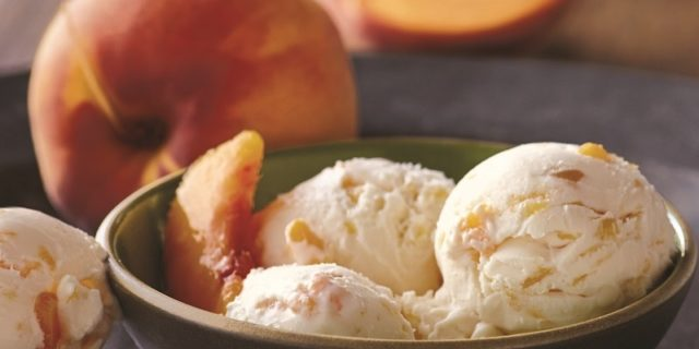 Homemade Ice Cream Recipe With Peaches