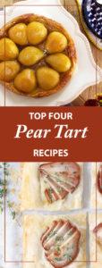 Four Recipes For Pear Tarts