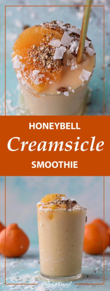 Creamsicle Orange Smoothie Recipe