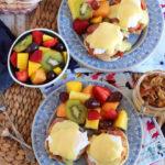 Eggs Benedict Recipe with Artichokes