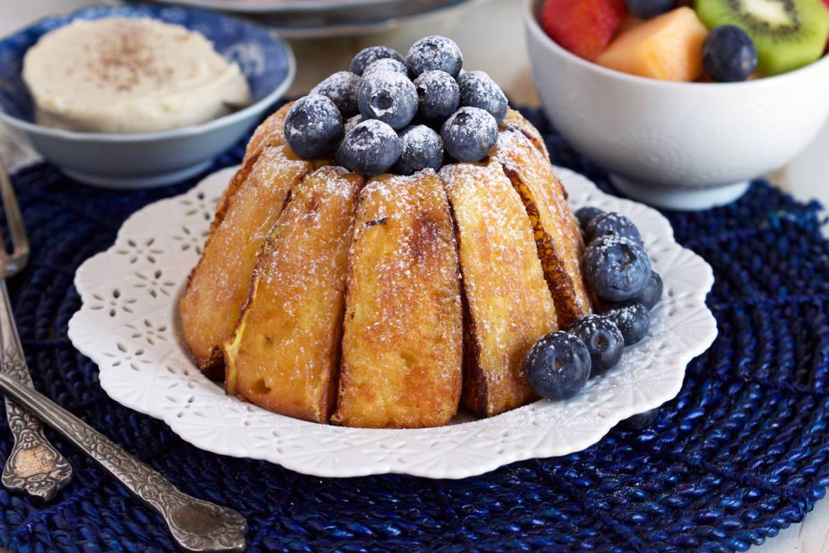 Bundt Cake French Toast Breakfast Recipes