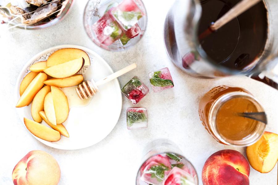 peach iced tea ingredients