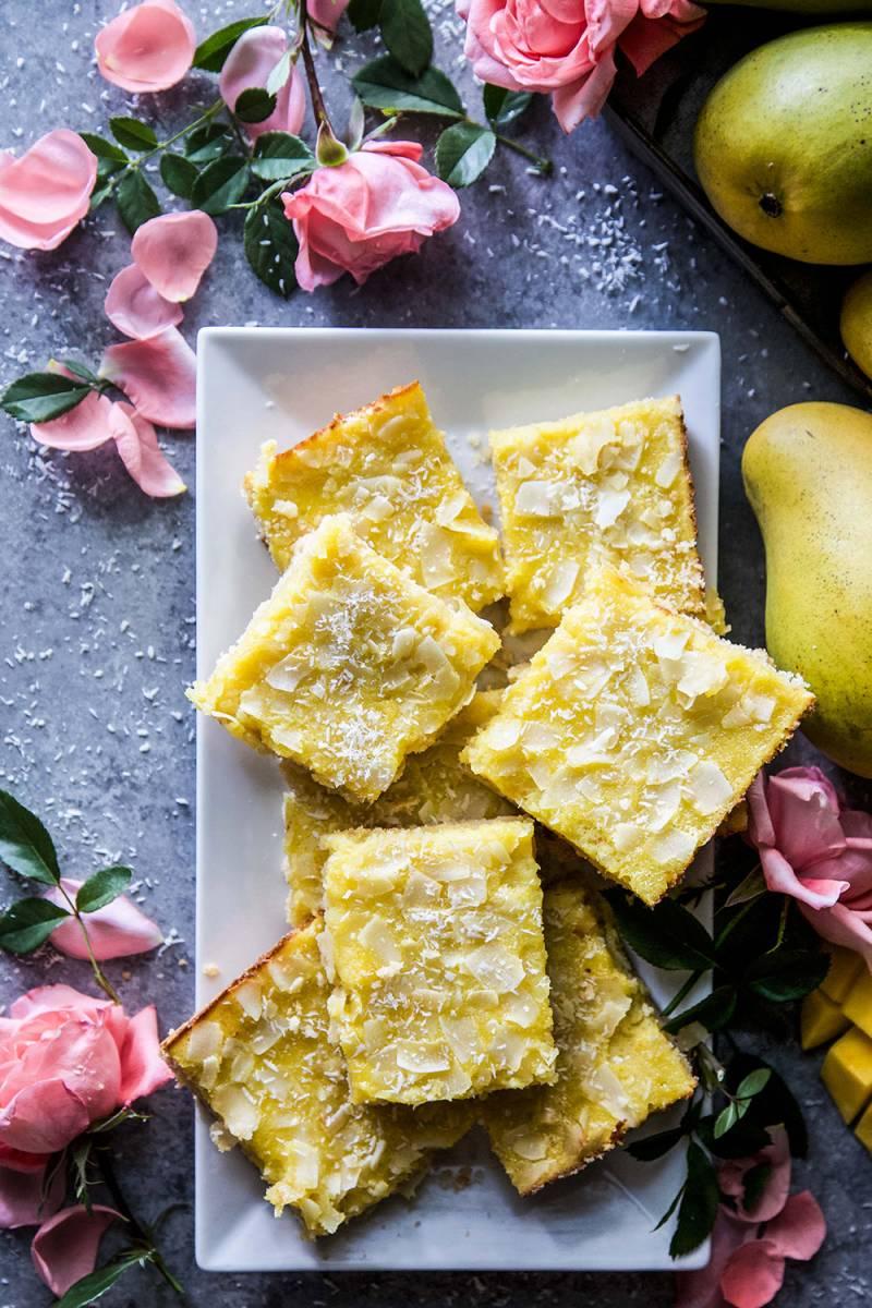 mango coconut cookie bar recipe