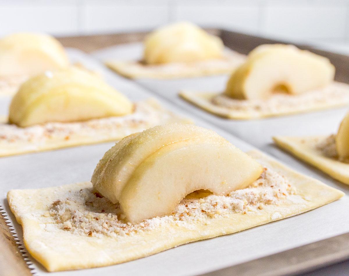 how to make pear tart recipe