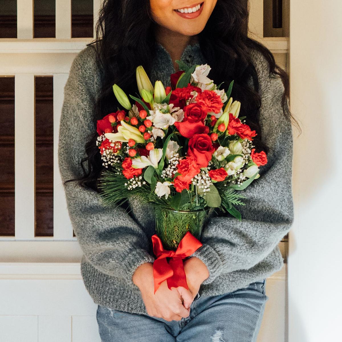 1800 flowers christmas bouquet