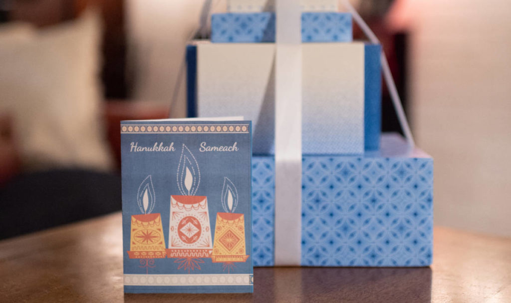 Hanukkah traditions feature