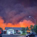 Almeda Drive Fire