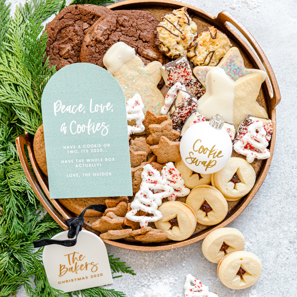 cookies for neighborhood cookie exchange