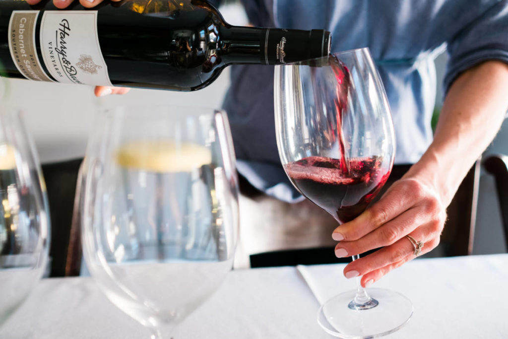 wine tasting cabernet sauvignon
