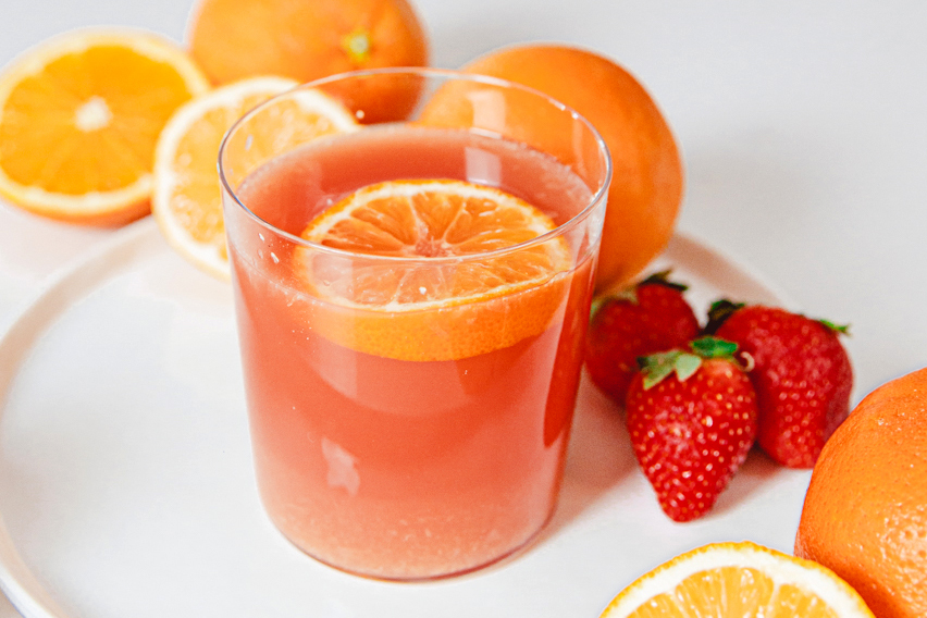 grapefruit and orange juice
