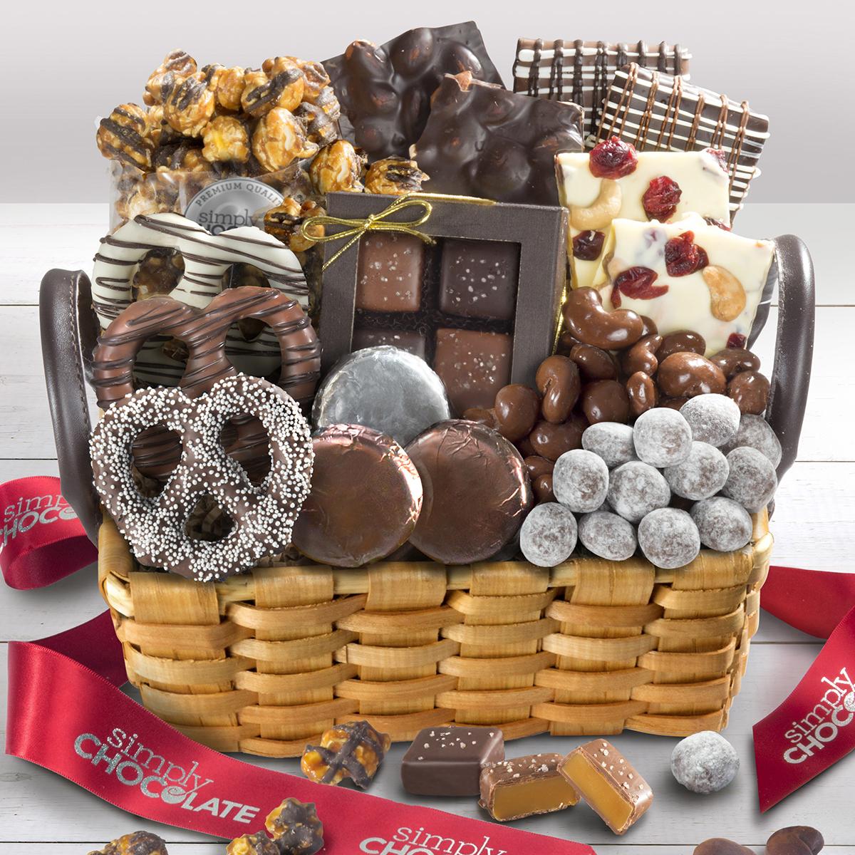 chocolate gift basket
