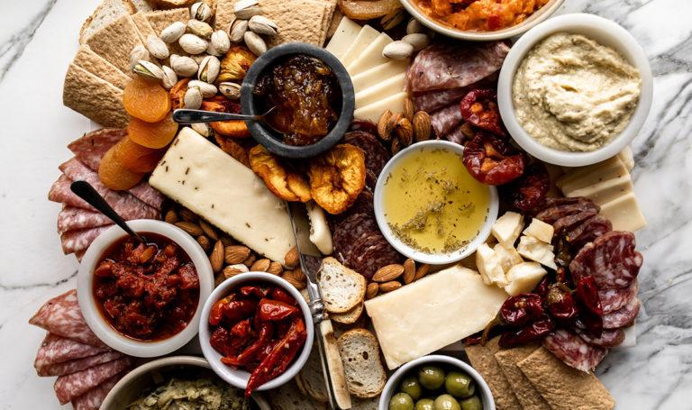 Italian-Inspired Antipasto Board