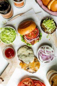 Harry & David Steak burgers