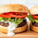smokey blue cheese burgers