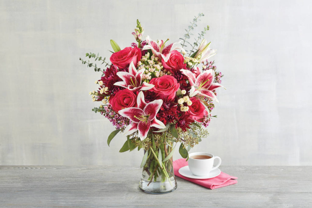 Harry & David pink flowers