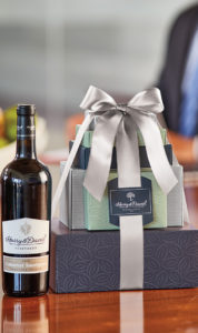 customer appreciation image -- wine gift