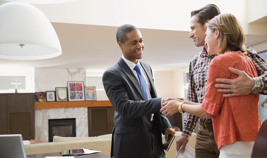 customer appreciation image -- couple shaking hands
