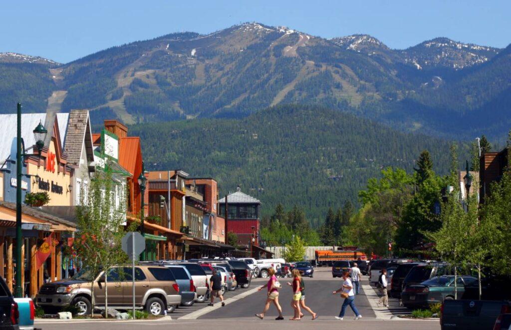 bachelor party ideas image -- Whitefish, Montana