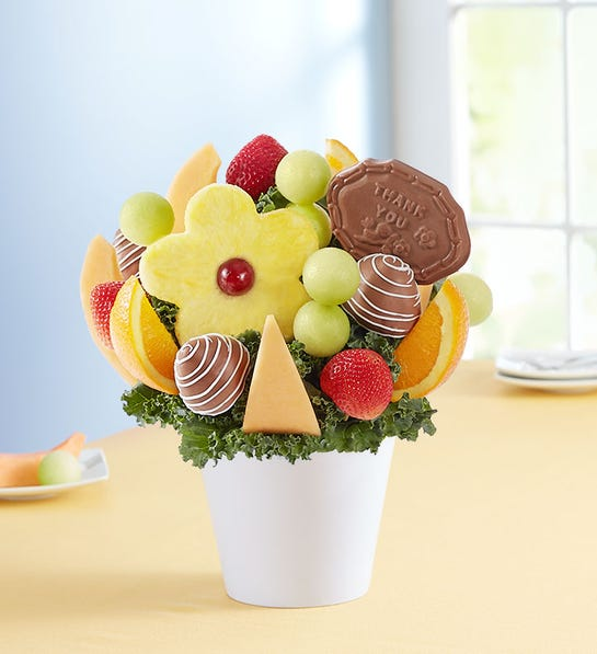 back to school celebration tips -- fruit bouquet